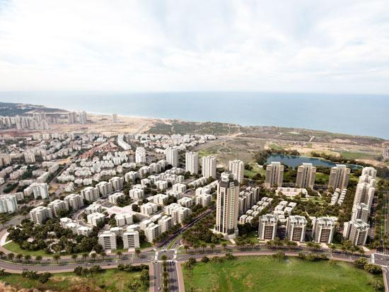 שכונת אגמים בנתניה / צלם: יחצ